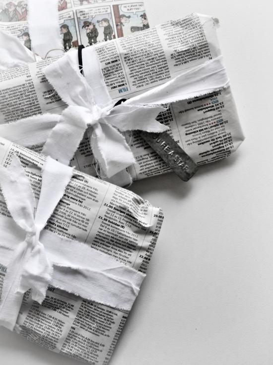 Подарок в газете картинка