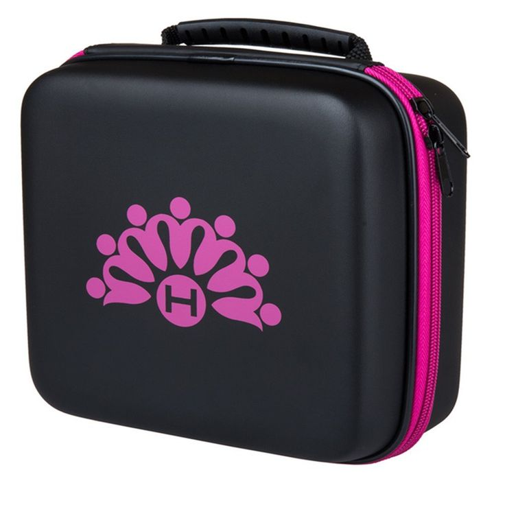 Homeself Waterproof Hard Shell Smooth Surface 30 Bottles Essential Oil Carrying Case, Essential Oil Box, Perfect for 5ml 10ml 15ml DoTerra and Young Living Oil (Pink) >>> Find out more details by clicking the image : aromatherapy essential oils
