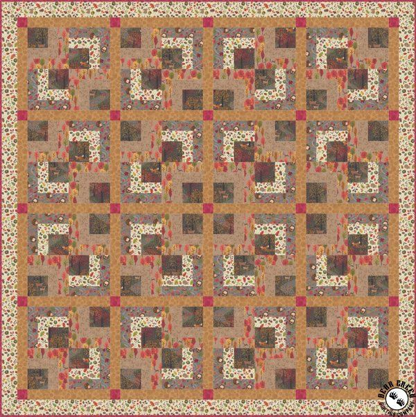 Autumn In Bluebell Wood Iii Free Quilt Pattern In 2020 Quilt Patterns Free Quilt Patterns Free Quilting