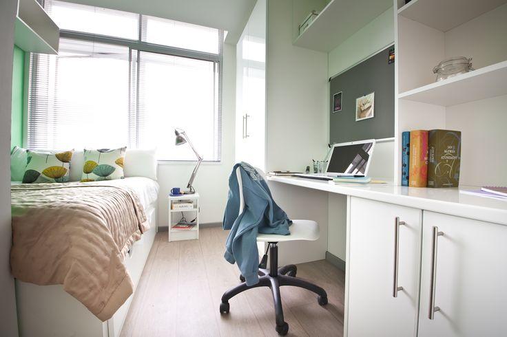 Summit House Student Accommodation Cardiff Interior Pinterest