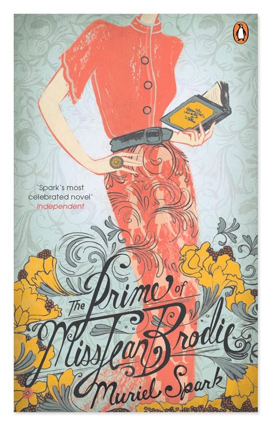 Penguin Essentials: The Prime of Miss Jean Brodie.  Artwork by @Sarah Watts