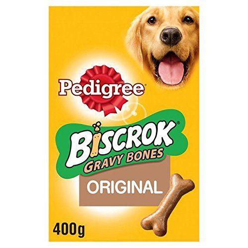 Pedigree Biscrok Gravy Bone Dog Biscuits 400g We Do Hope You