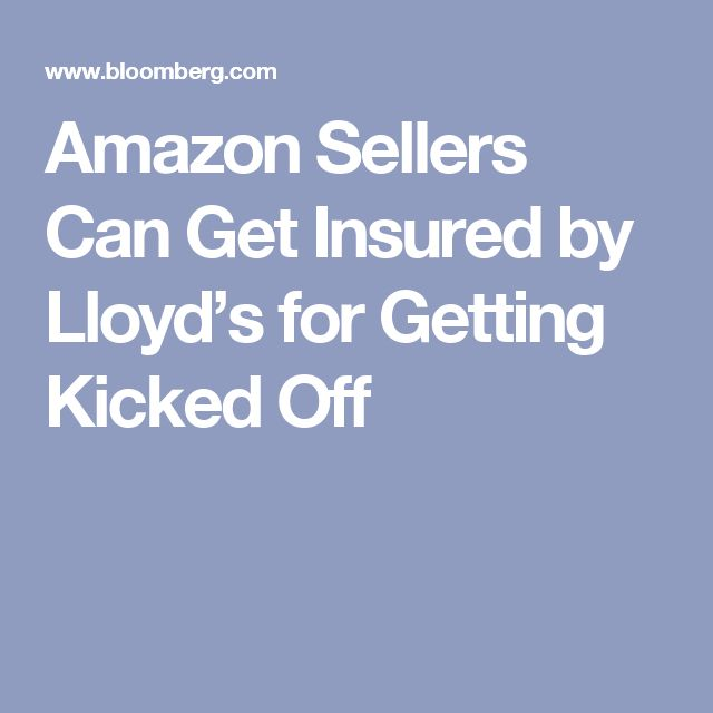 Amazon Sellers Can Get Insured by Lloyd's for Getting Kicked Off