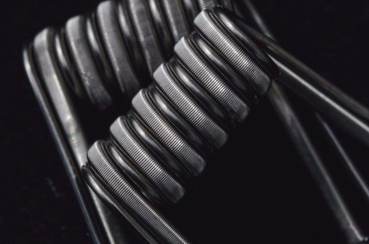 #6 Fused Clapton Coil Parallel 26ka1/40n80 to 26 Vape RDA twisted messes #208coilcompany