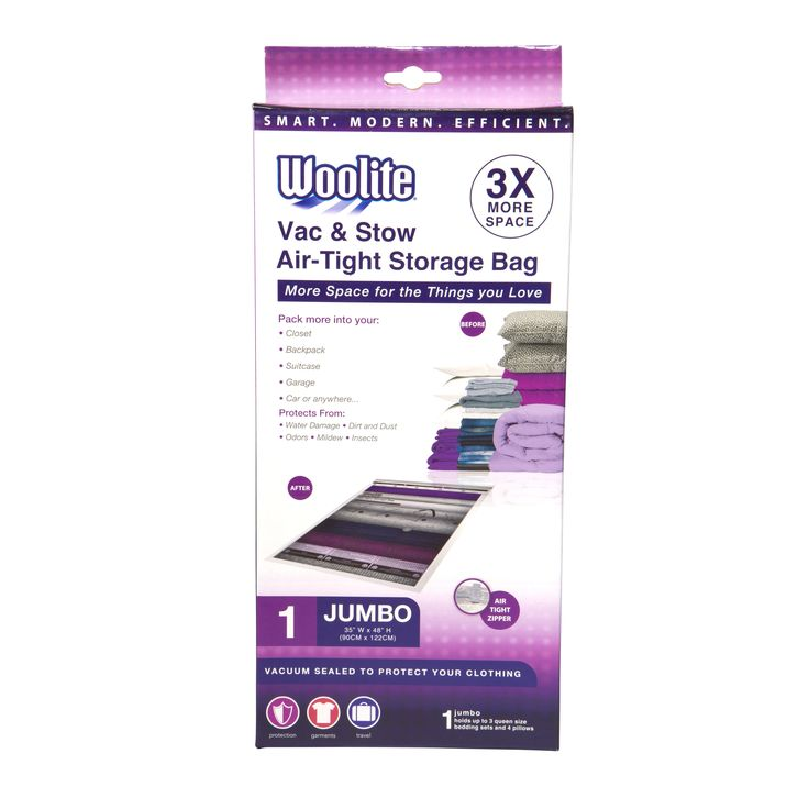 Simplify Woolite Airtight Jumbo Vacuum Storage Bag