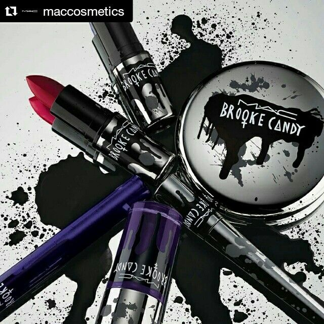 ME MUERO. La nueva línea de Mac de Brooke Candy!! Me vuelvo loca, quiero todo ❤ Si no sabes quién es googleala YA. Es una rapera con muy buen material que me encanta   #fashion #style #beauty #stylish #instafashionblogger #blogger #fashionblogger #fashionista #trendy #brookecandy #mac #maccosmetics #makeup #instagood #photooftheday