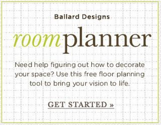 Room Planner: choice of room and furniture lay-outs.
