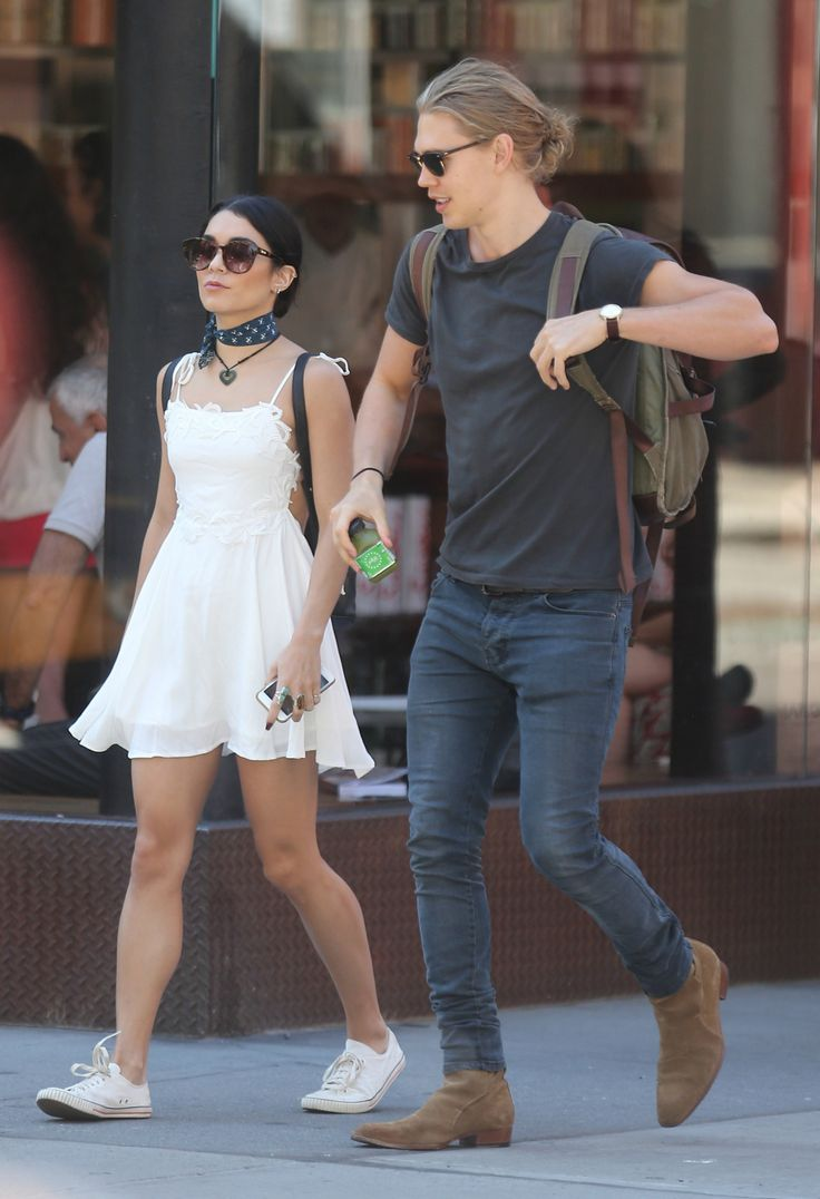 Vanessa Hudgens & Austin Butler out and about in NYC -June 24th