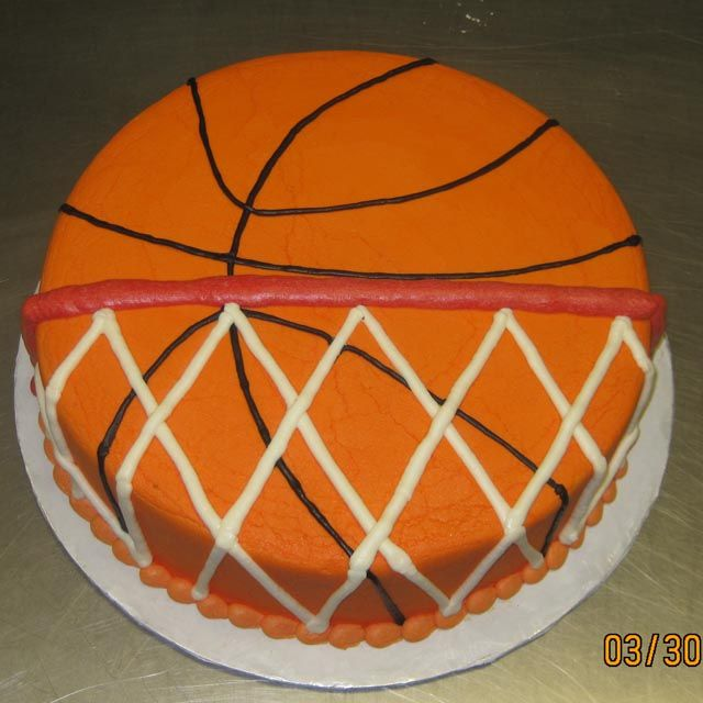 Cake Anatomy -Basketball