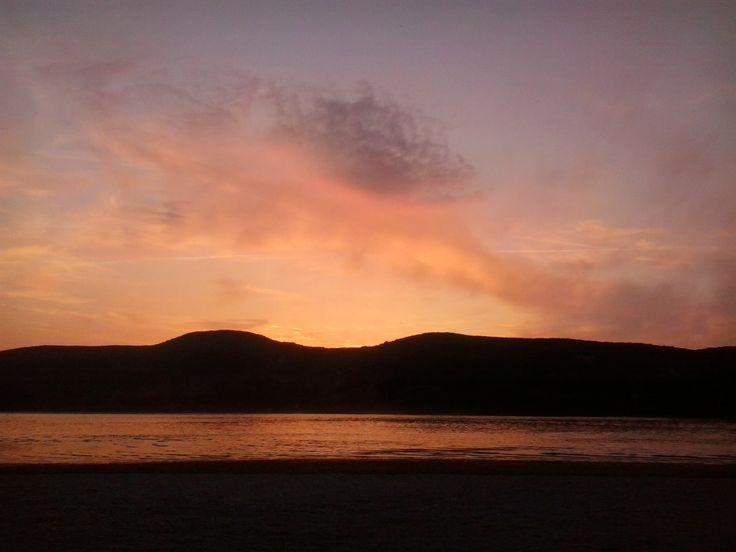 Sunset in Kisoroszi