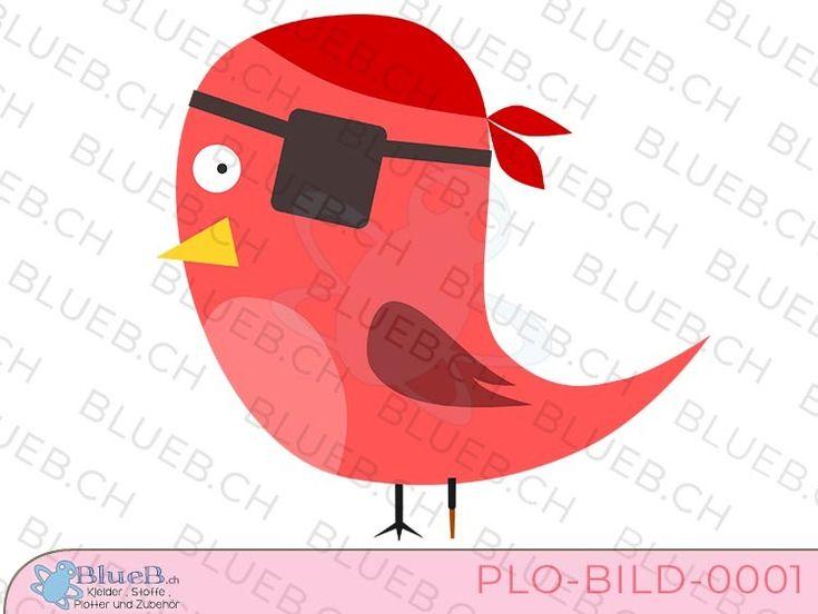 Plotterbild Pirate Bird