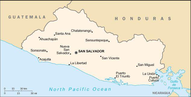 El salvador map ◆El Salvador – Wikipédia http://pt.wikipedia.org/wiki/El_Salvador #El_Salvador