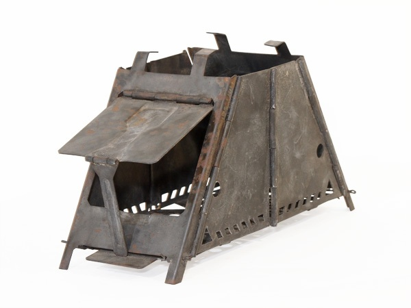 An old folding wood stove for camping by Ned Yeung, via Flickr - 121 Best Images About Stove On Pinterest Bottle, Boats And Stove