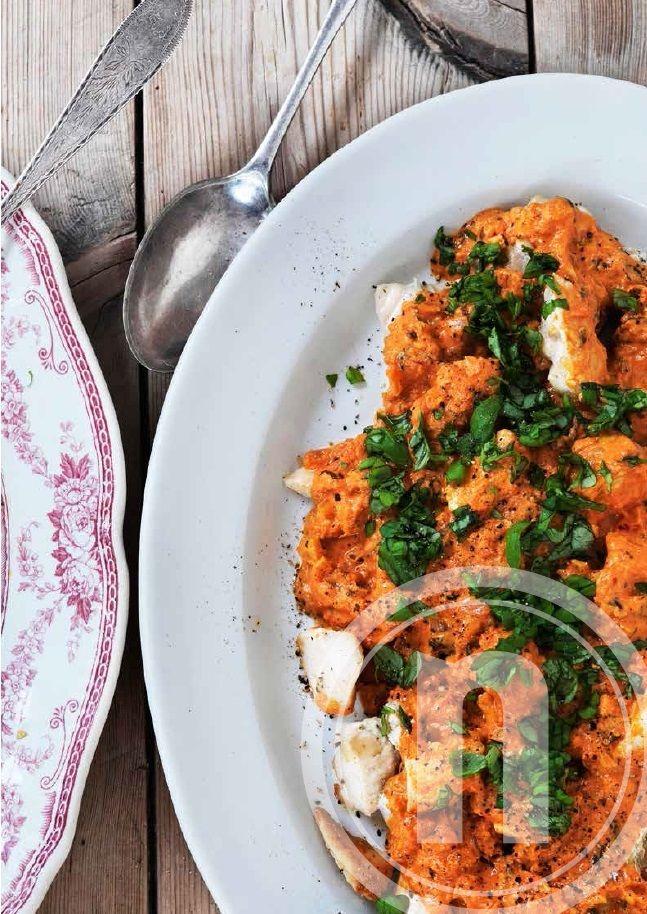 Kylling i tomatsauce med mascarpone