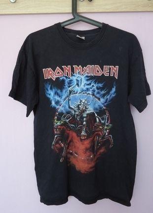Kup mój przedmiot na #vintedpl http://www.vinted.pl/odziez-meska/koszulki-dla-kibicow-i-fanow/13518526-iron-maiden-koszulka-bluzka-tshirt-heavy-metal-oversize-szara