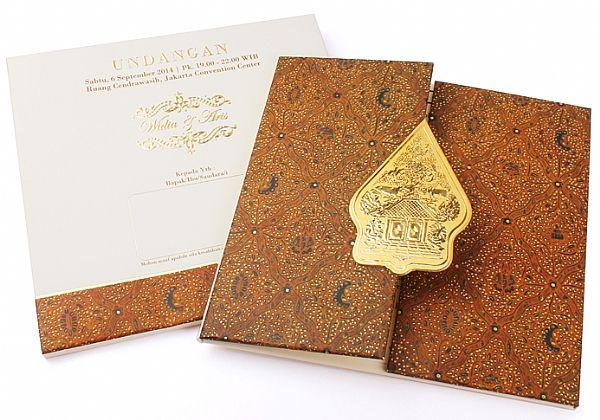 javanese wedding invitation