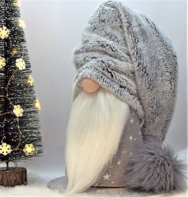 "14"" Christmas Gnome Nordic Scandinavian Nisse Tomte Gonk"