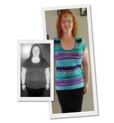 66 inches weight loss
