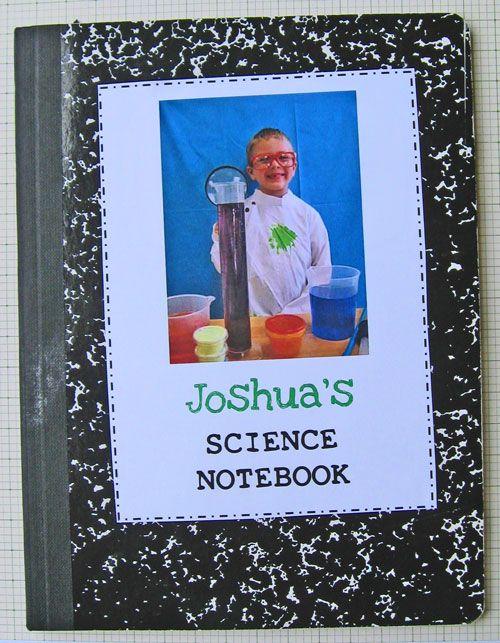 Science Notebooks - Kindergarten Kindergarten