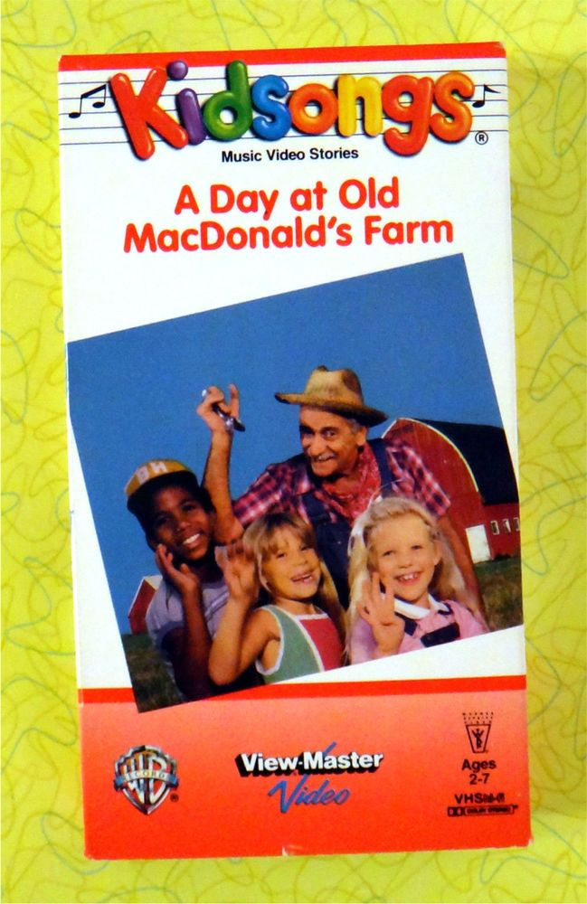 Kidsongs - A Day at Old MacDonald\'s Farm ~ VHS Movie ~ Kids Sing ...