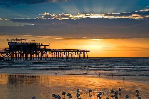 Galveston Sunset Via Frommer S Texas Beaches