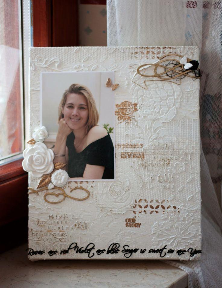 My shiny studio: Vászonkép nővéremnek