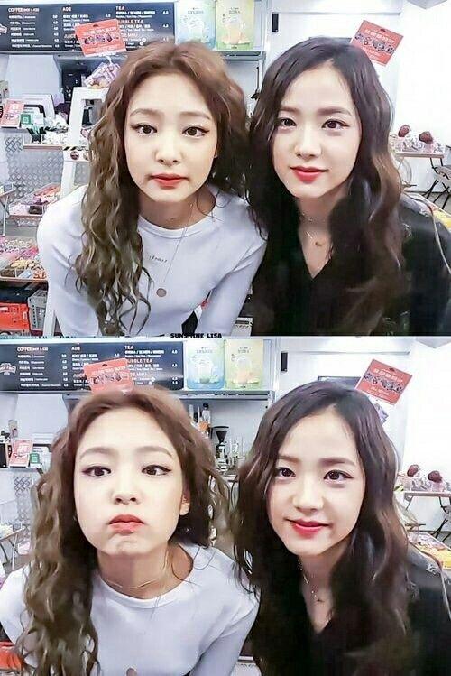 Jennie and Jisoo