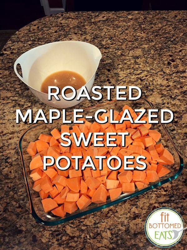Because friends don't let friends put marshmallows on their sweet potatoes. | Fit Bottomed Eats