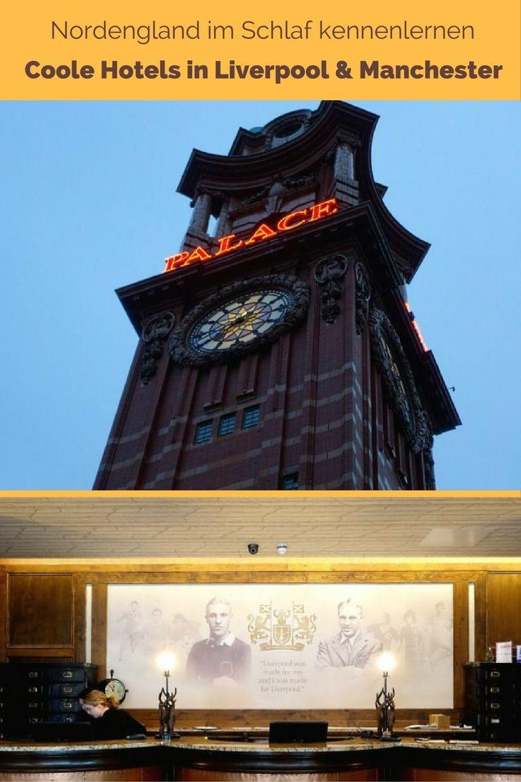 Wie wir in zwei kuriosen Hotels mehr über England, britischen Fußball und Viktorianismus gelernt haben als bei jeder Sightseeing-Tour. #England #Liverpool #Manchester #hotels