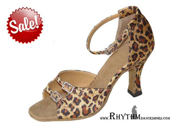 ON SALE! Unleash the animal in you... on the dancefloor with this Rosa Leopard Width Adjustable available FOR ONLY £19.99! http://www.rhythmdanceshoes.com/epages/es134234.sf/en_GB/?ObjectPath=/Shops/es134234/Products/RHY-RS-L
