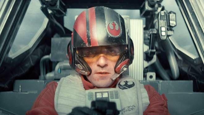Star Wars Il risveglio della forza Oscar Isaac ruolo di Poe Dameron