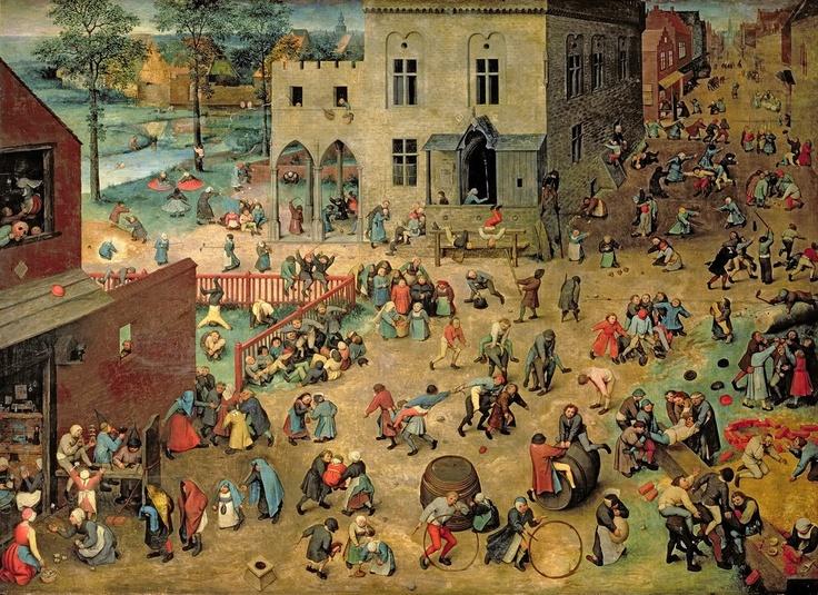 Children's Games, by Pieter Bruegel, the Elder  www.artexperiencenyc.com