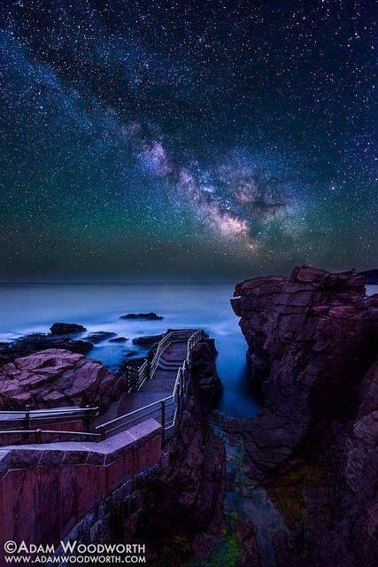 Thunder Hole Acadia National Park, Maine