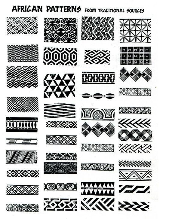 african patterns - ideas for zentangle by emmanuel.turner.37