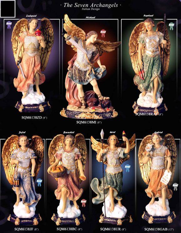Amazoncom seven archangels statues Home amp Kitchen