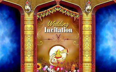 Flex Designs For Marriage Psd Backgrounds Free Downloads Wedding Banner Design Wedding Card Design Indian Wedding Card Design