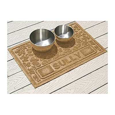 Fall Day Personalized Pet Placemat - MEDIUM GRAY - Improvements by Improvements. $39.99. Dog food mat is personalized with your pet's name. Personalized Pet Placemat can be used indoors or out. Fall Day Personalized Pet Placemat will catch spills and splashes before they reach your floor. Fall Day Personalized Pet Placemat will catch spills and splashes before they reach your floor. Personalized Pet Placemat can be used indoors or out. Dog food mat is personalized with your p...