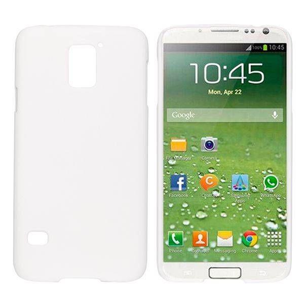 Wit hardcase hoesje voor Samsung Galaxy S5