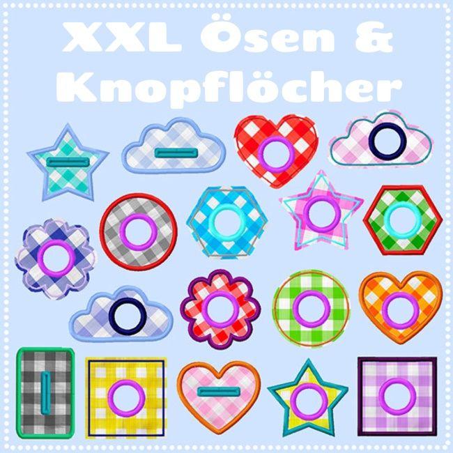 XXL Ösen & Knopflöcher (Freebie)