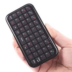 Bluetooth Mini Keyboard Wireless Keypad For Mobile Phones, Iphones, Ipod, Ipad And Tablets