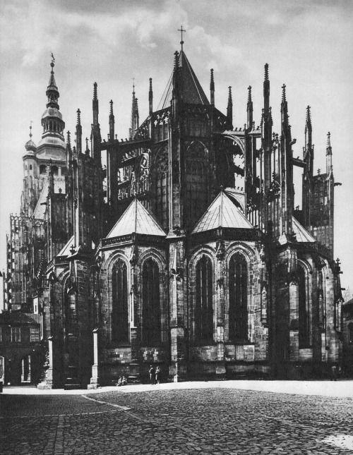 FrantišekPřeučil, Prague cathedral, 1980's