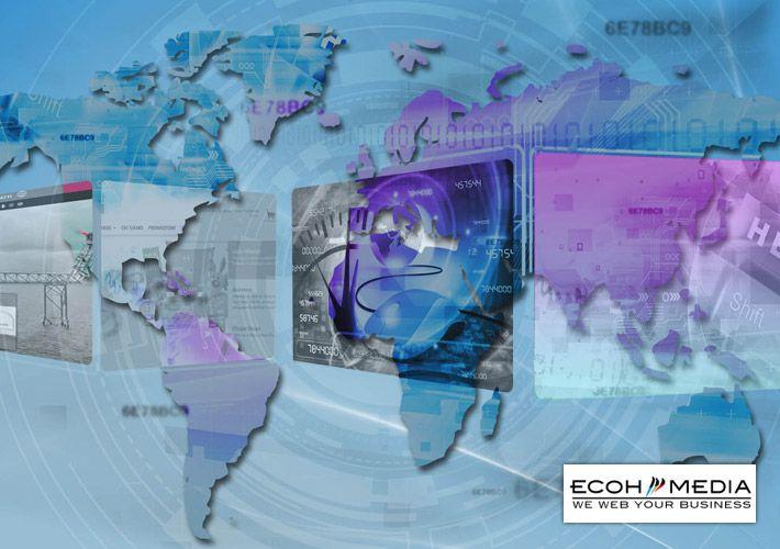 Per la partecipazione al Forumed, WOOI® rinnova l'immagine di Ecoh Media, realizzando poster, brochure e flyer sul tema dell'internazionalizzazione.