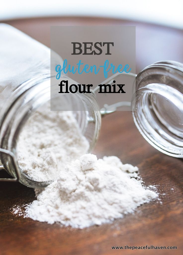 The absolute BEST gluten-free flour mix!