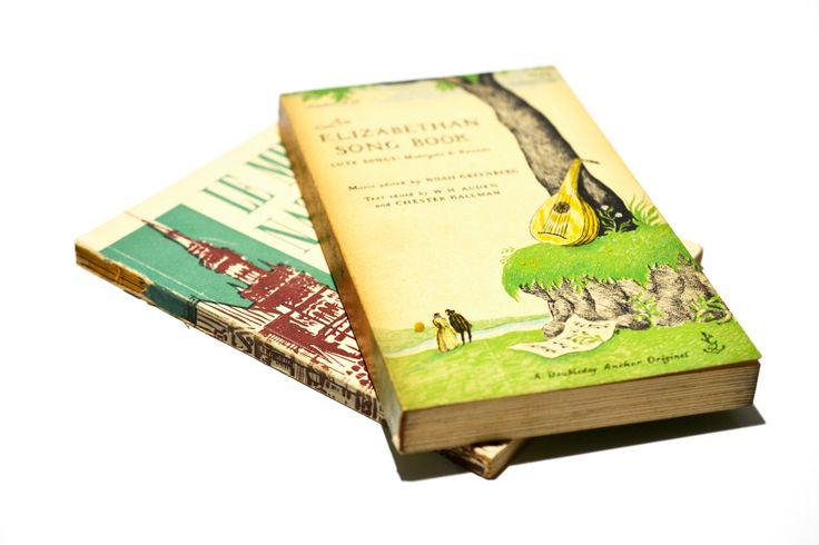 オーガニックインテリアを飾る洋書のブロカント小物