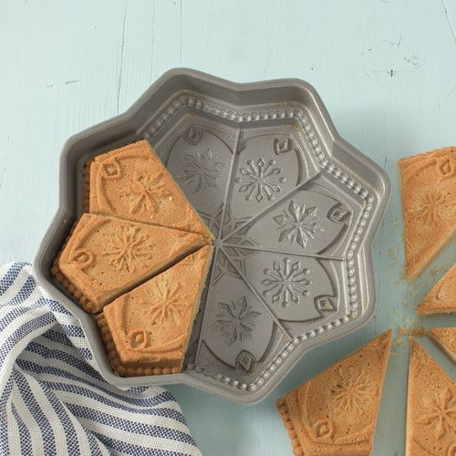 Found it at Wayfair - Sweet Snowflakes Non-Stick Shortbread Cake Pan