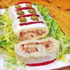Recopilatorio con las 10 mejores recetas de pasteles salados para comer en frío y sorprender a todos en fiestas y reuniones
