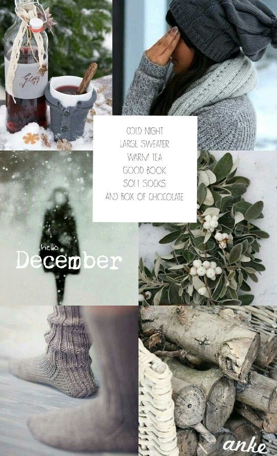 Moodboard | Hello December #anke