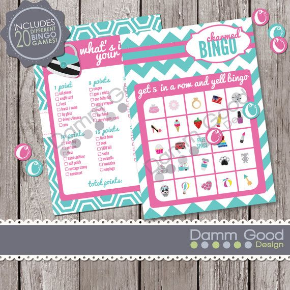 PARTY PRINTABLES Printable Party Games Origami by DammGoodDesign