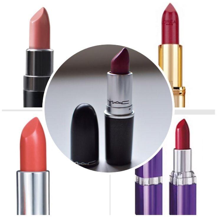 Favourite Lipsticks!  #MAC #MAKEUP #KYLIELIPKIT #DUPE