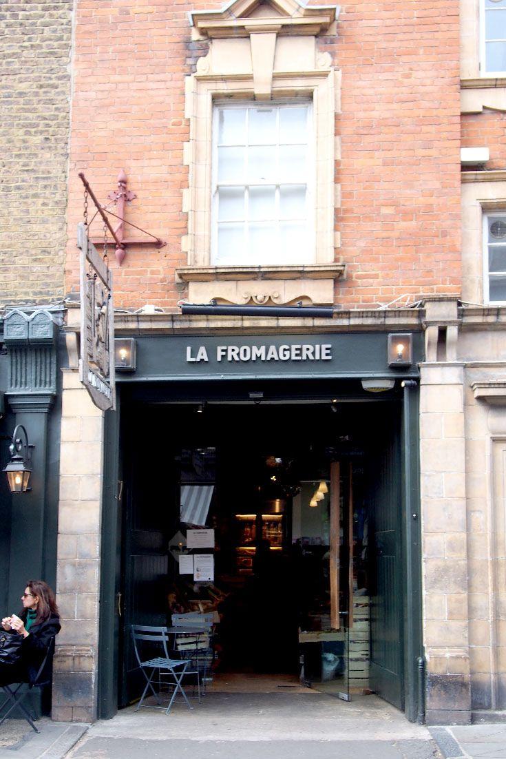 { La Fromagerie es una de las tiendas de quesos más bonitas de Londres, la entrada es ideal. } #lafromagerie #queso #londres